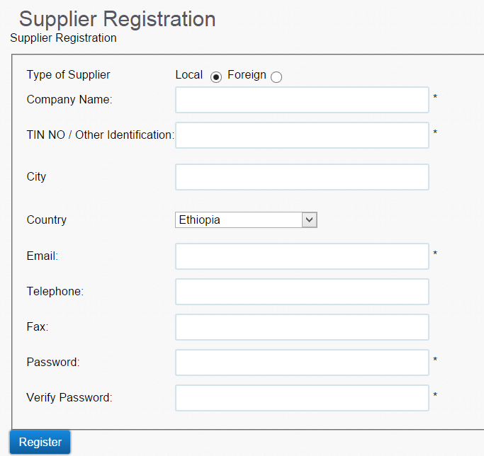 How to register in PPA - Construction Proxy
